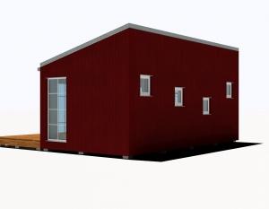 25M2 Vienslīpa Tukša Sarkana Klasika 3